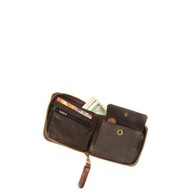 Leather Zip Around French Wallet Wallet WillLeatherGoods