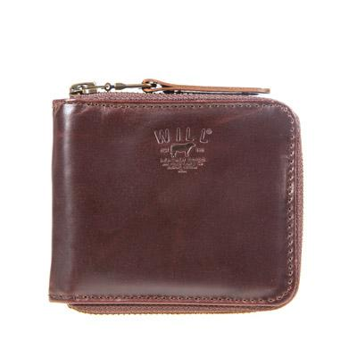 Leather Zip Around French Wallet - FINAL SALE Wallet WillLeatherGoods Brown