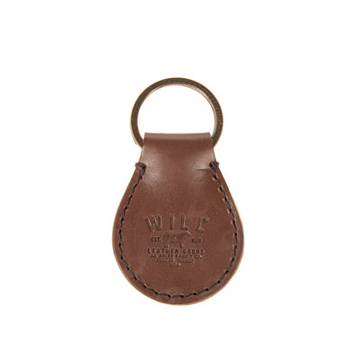 Toulouse Drop Keychain Keychain WillLeatherGoods Brown