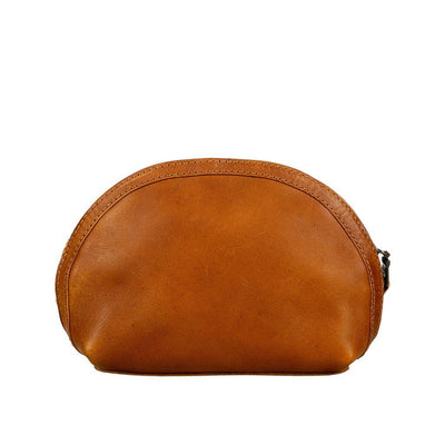 All-Leather Makeup Bag Will Leather Goods