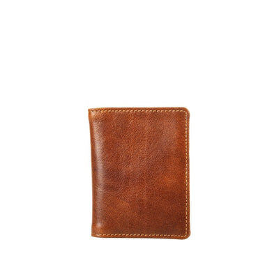 Leather Slim Card Wallet Wallet Will Leather Goods COGNAC