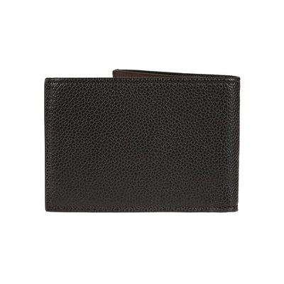 Pebble Slim Fold Wallet Black Back