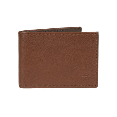 Pebble Slim Fold Wallet Tan