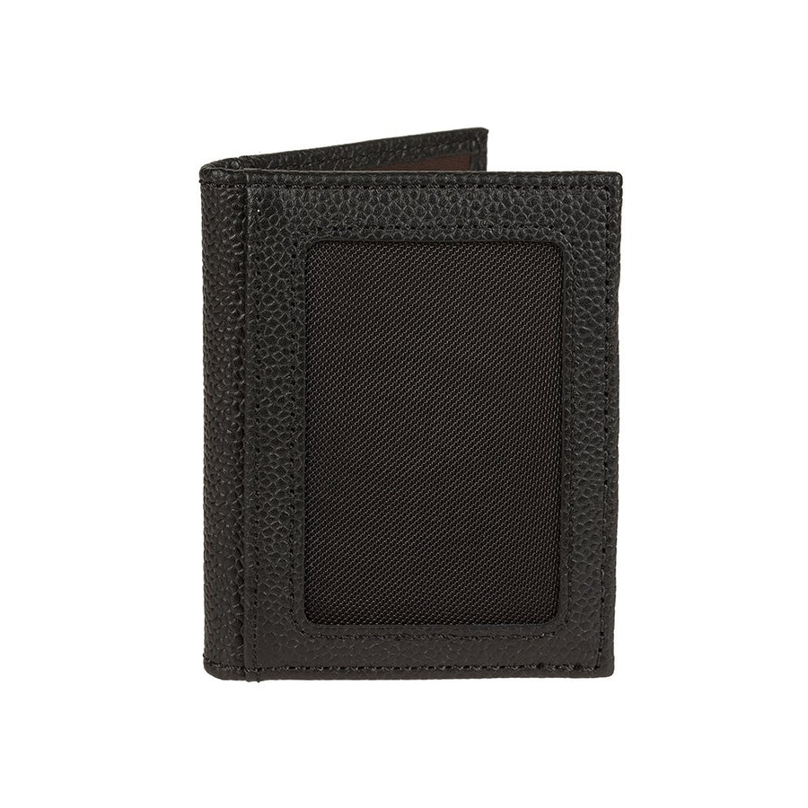 Pebble Card Fold Black Back