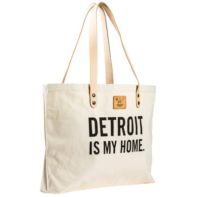 Detroit Patchwork Tote Tote WillLeatherGoods SALE