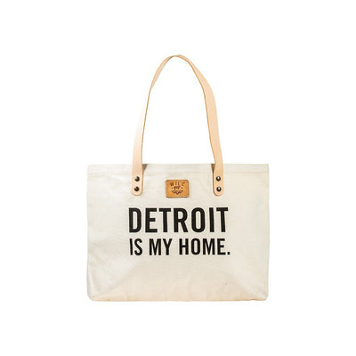 Detroit Patchwork Tote Tote WillLeatherGoods SALE Natural