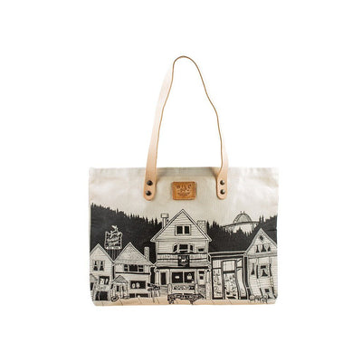Portland City Tote Tote WillLeatherGoods Natural