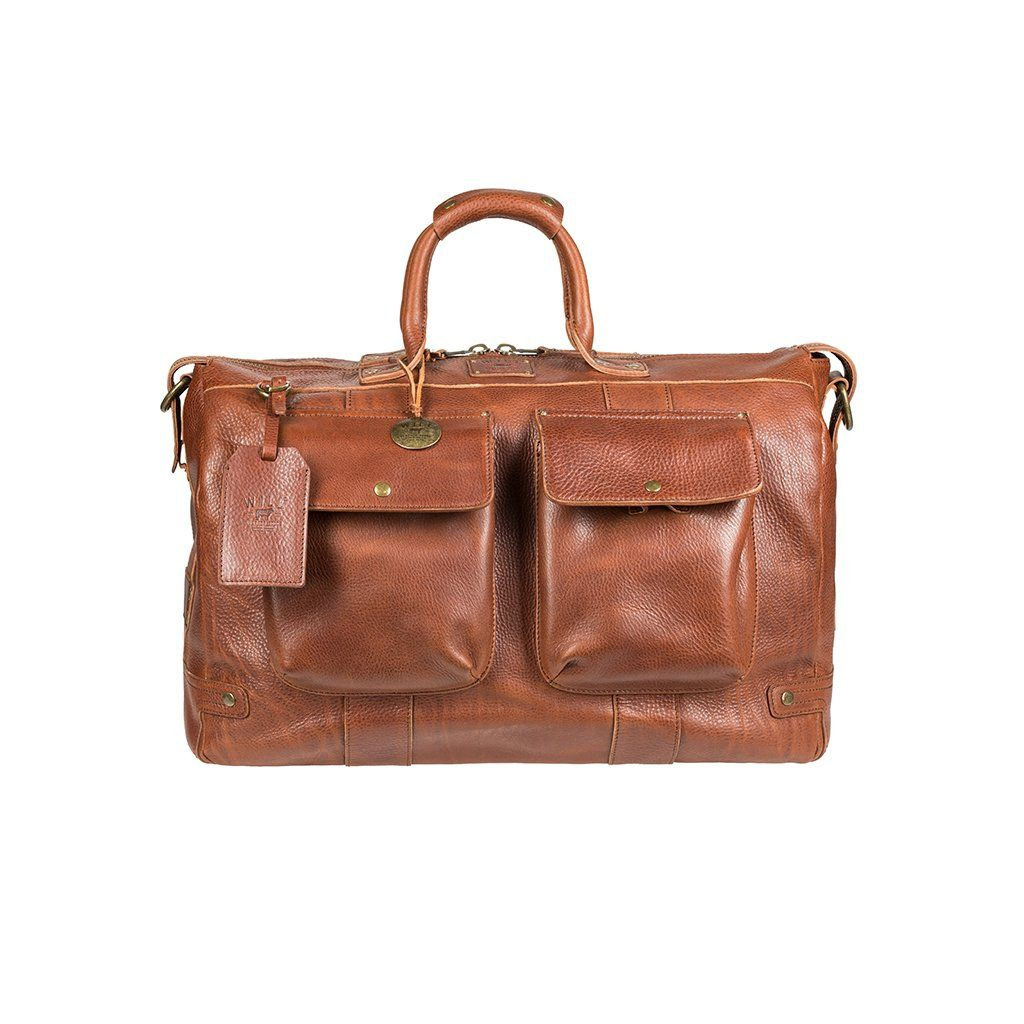 05058c403c Leather Traveler Duffle - Will Leather Goods