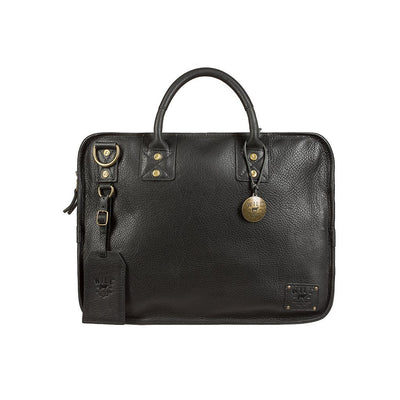 Hank Satchel Satchel WillLeatherGoods Black