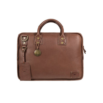 Hank Satchel Satchel WillLeatherGoods Brown