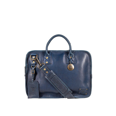 Hank Satchel Satchel WillLeatherGoods Navy