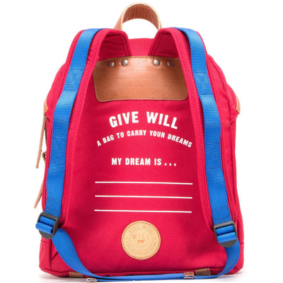 Give WILL Backpack Back Write Your Dream Adjustable Straps