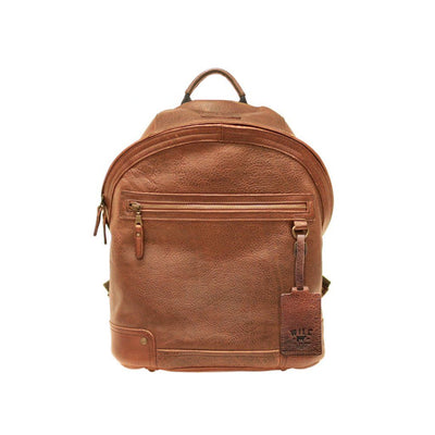 Essential Dome Backpack Backpack Will Leather Goods Cognac