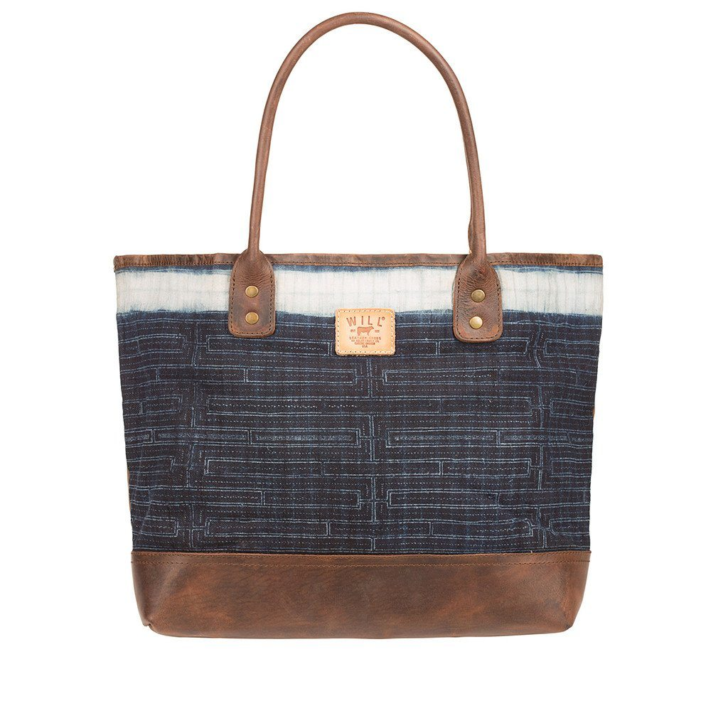 The Indigo Batik Tote