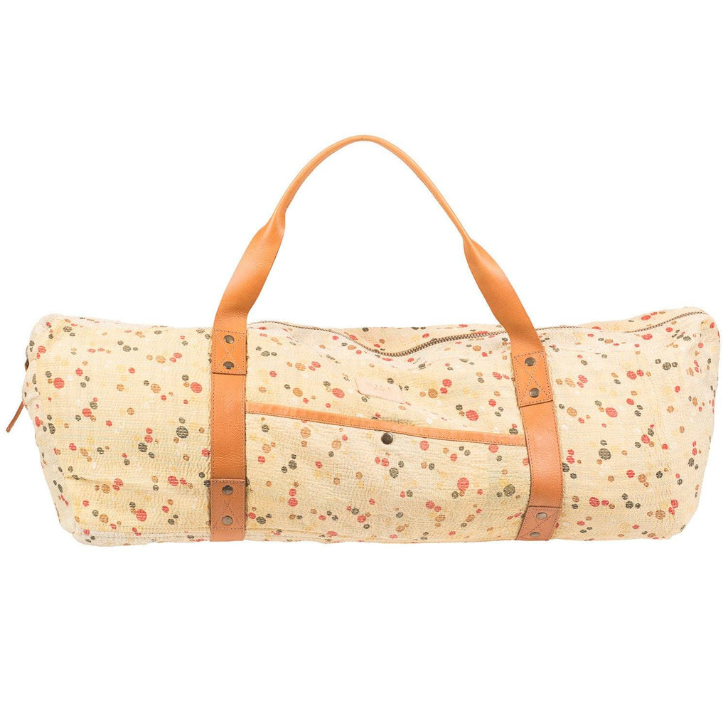 Kantha Quilted Yoga Duffle
