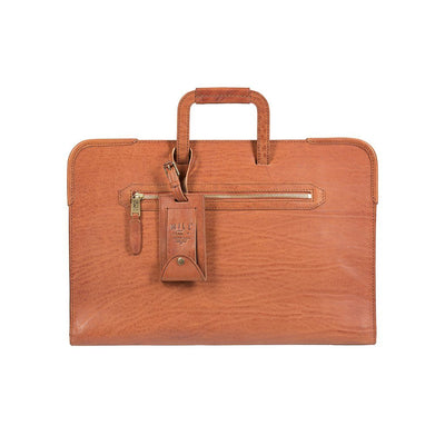 The Diplomat Attache William Bag WillLeatherGoods WILLIAM Cognac
