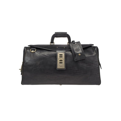 The Journeyman Duffle Duffle WillLeatherGoods WILLIAM Black