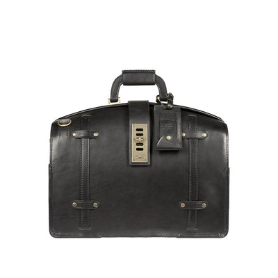 The Counsel Bag William Bag WillLeatherGoods Black