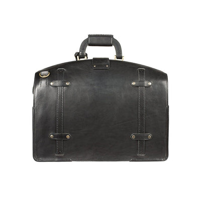 The Counsel Bag Black William Bag WillLeatherGoods LAST CHANCE