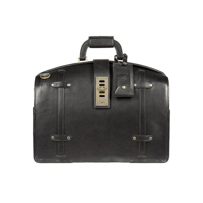 The Counsel Bag Black William Bag WillLeatherGoods LAST CHANCE Black Final Sale