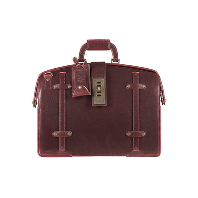 The Counsel Bag William Bag WillLeatherGoods Burgundy