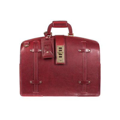 The Counsel Bag William Bag WillLeatherGoods WILLIAM Wine