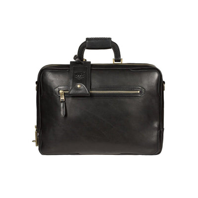 The Continental Briefcase William Bag WillLeatherGoods WILLIAM Black