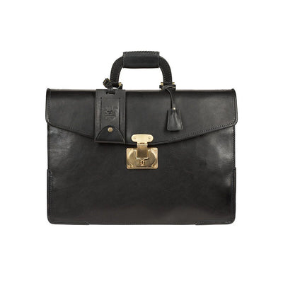 The Lieutenant William Bag WillLeatherGoods WILLIAM Black
