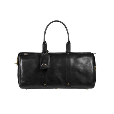 The Expedition Duffle Duffle WillLeatherGoods LAST CHANCE Black Final Sale