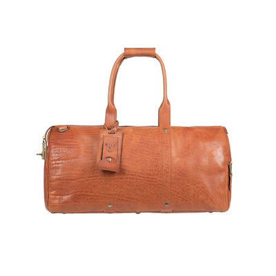The Expedition Duffle Cognac Duffle WillLeatherGoods WILLIAM Cognac