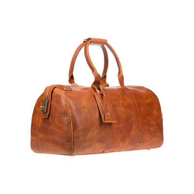 Expedition Duffle Vegetable Tanned Leather Side
