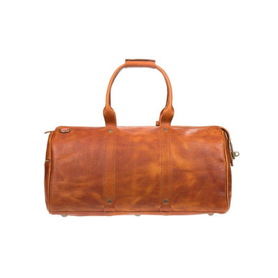 Expedition Duffle Vegetable Tanned Leather Back