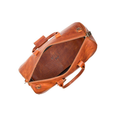 The Expedition Duffle Cognac Duffle WillLeatherGoods WILLIAM