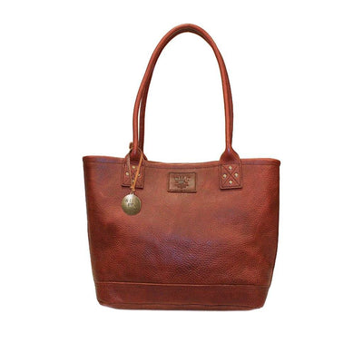 Signature Leather Everyday Tote Tote WillLeatherGoods Cognac