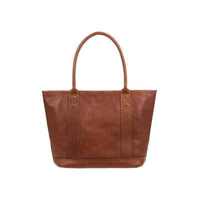 Signature Leather Everyday Tote Original Tote WillLeatherGoods