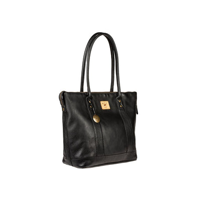 Signature Leather Getaway Tote