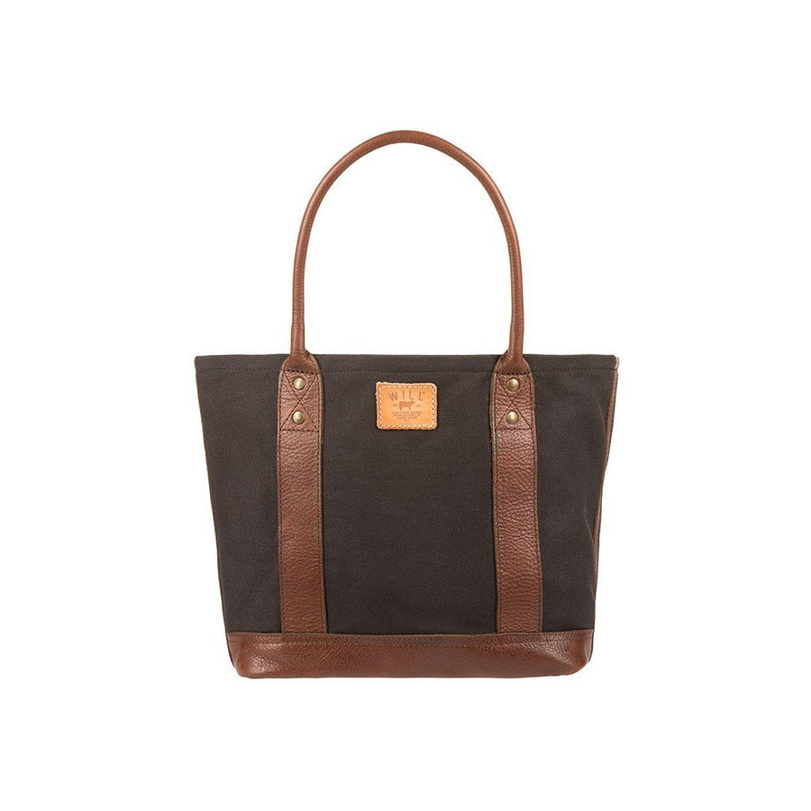 Signature Canvas & Leather Everyday Tote Tobacco Saddle