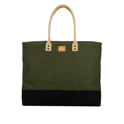 Grande Tote Will Leather Goods Olive & Camo