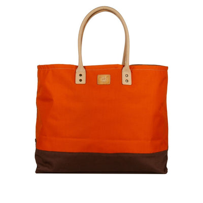 Grande Tote Will Leather Goods Orange & Camo