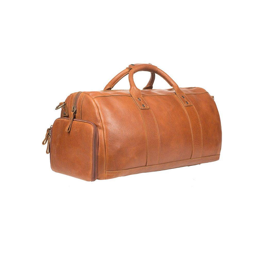 leather duffle atticus
