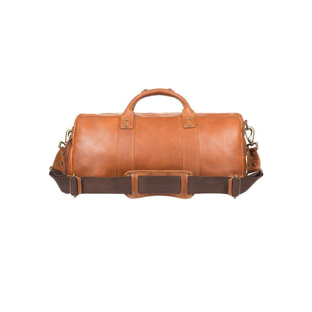 leather atticus nike shoe duffle