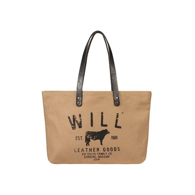 Tan Small Classic Carryall front