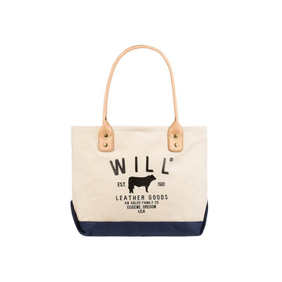 Classic Carryall Natural Navy