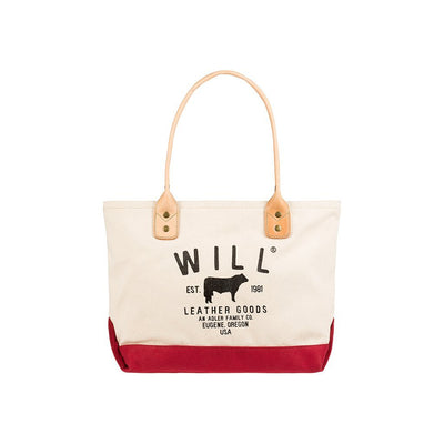 Classic Carryall Natural Red