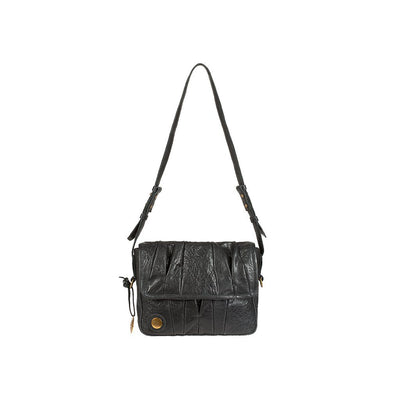 Her Crossbody Black Front Strap