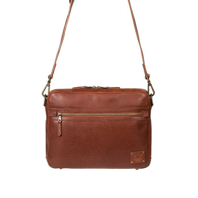 Leather Benjamin Messenger Messenger WillLeatherGoods Cognac