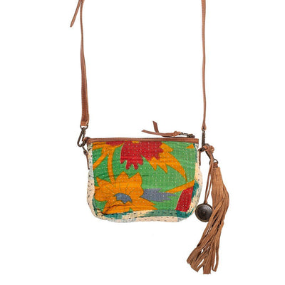 Kantha Small Crossbody Crossbody WillLeatherGoods