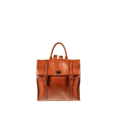 Classic Mini Backpack Backpack WillLeatherGoods Cognac