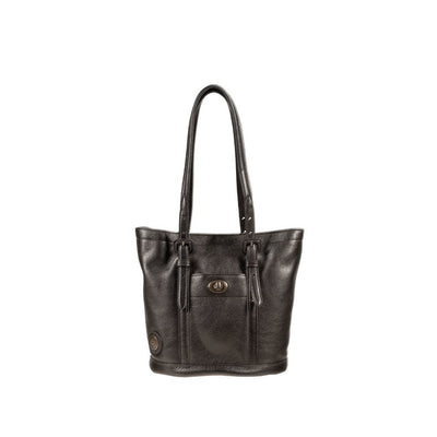Classic Bucket Tote Tote WillLeatherGoods Black