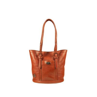 Classic Bucket Tote Tote WillLeatherGoods Cognac